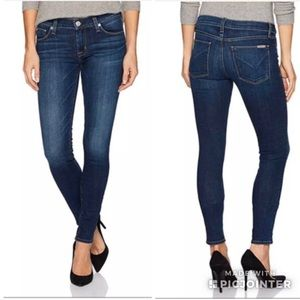 HUDSON Krista Super Skinny Stretch Jeans Strike 27